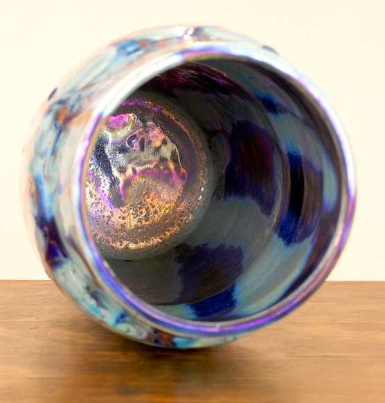 [Iridescent Pottery by Paul J. Katrich (0800)]