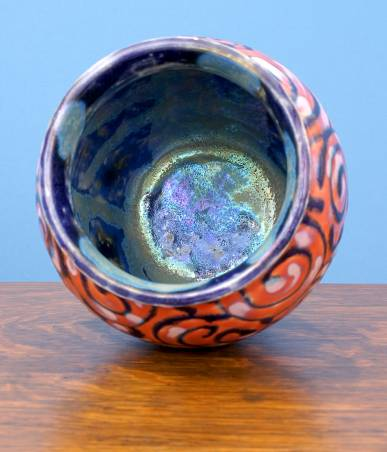 [Iridescent Pottery by Paul J. Katrich (0823)]