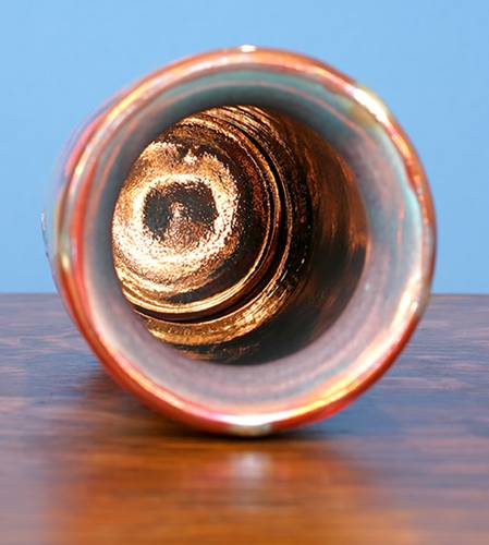[Iridescent Pottery by Paul J. Katrich (0825)]