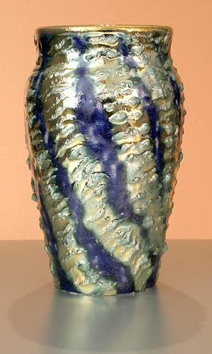 [Iridescent Pottery by Paul J. Katrich (0827)]