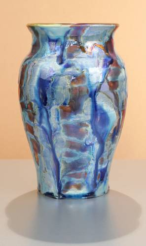 [Iridescent Pottery by Paul J. Katrich (0828)]