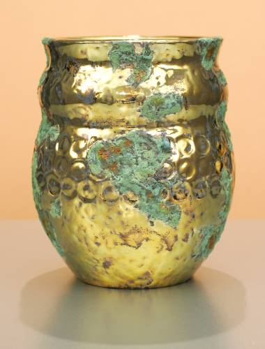 [Iridescent Pottery by Paul J. Katrich (0830)]