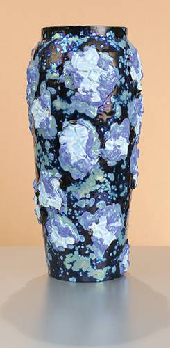 [Iridescent Pottery by Paul J. Katrich (0867)]