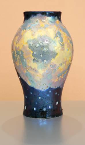 [Iridescent Pottery by Paul J. Katrich (0891)]