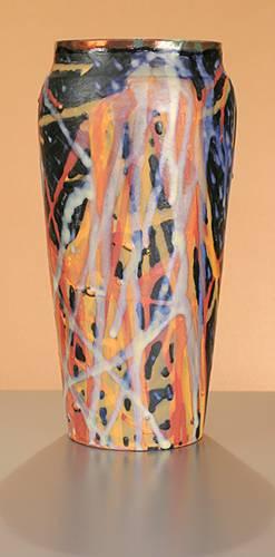 [Iridescent Pottery by Paul J. Katrich (0900)]
