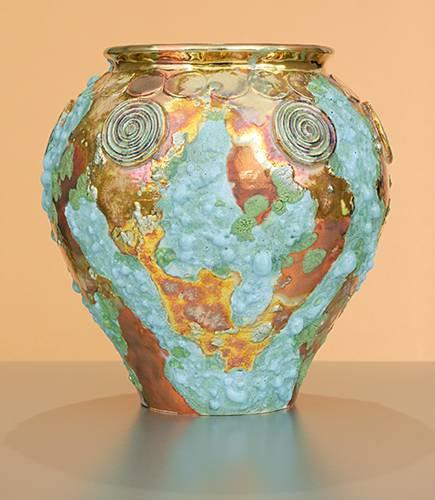 [Iridescent Pottery by Paul J. Katrich (0910)]