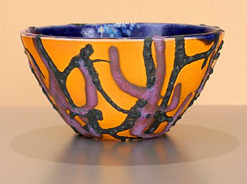 [Iridescent Pottery by Paul J. Katrich (0919)]
