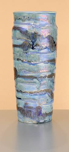 [Iridescent Pottery by Paul J. Katrich (0928)]