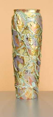 [Iridescent Pottery by Paul J. Katrich (0936)]