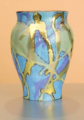 [Iridescent Pottery by Paul J. Katrich (0967)]