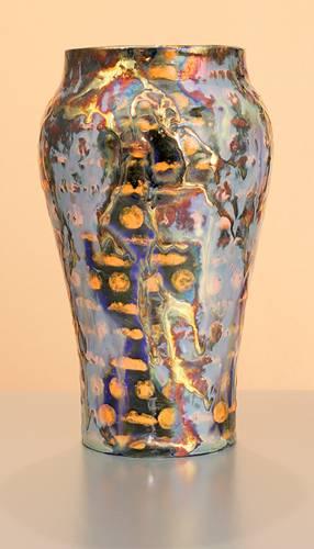 [Iridescent Pottery by Paul J. Katrich (0969)]