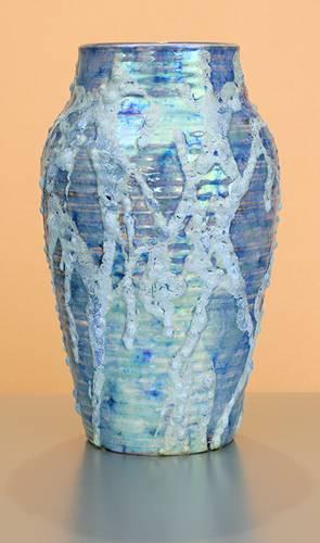 [Iridescent Pottery by Paul J. Katrich (0970)]