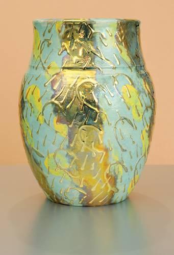 [Iridescent Pottery by Paul J. Katrich (0988)]