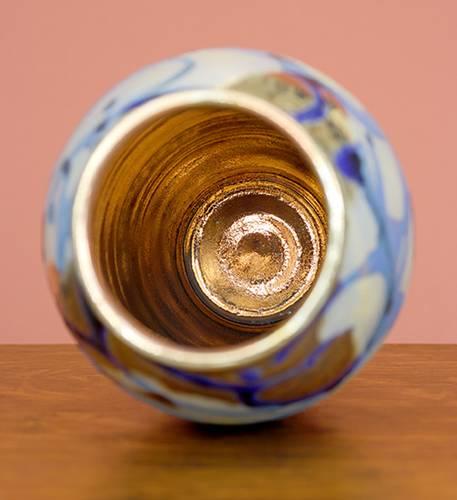 [Iridescent Pottery by Paul J. Katrich (1055)]