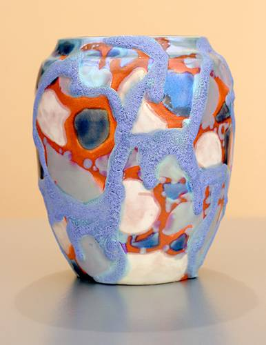 [Iridescent Pottery by Paul J. Katrich (1057)]