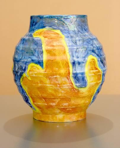 [Iridescent Pottery by Paul J. Katrich (1059)]