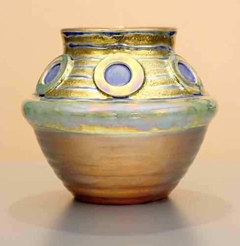 [Iridescent Pottery by Paul J. Katrich (1060)]
