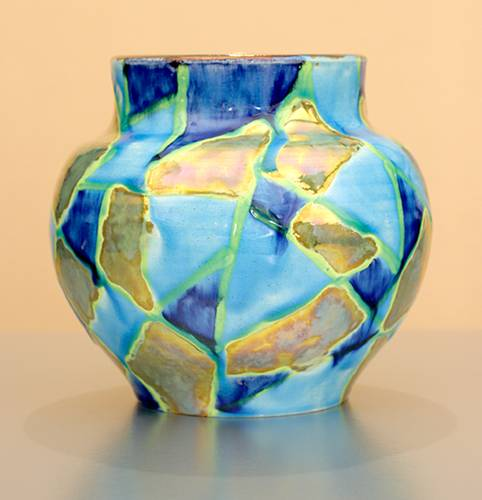 [Iridescent Pottery by Paul J. Katrich (1062)]