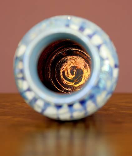 [Iridescent Pottery by Paul J. Katrich (1067)]