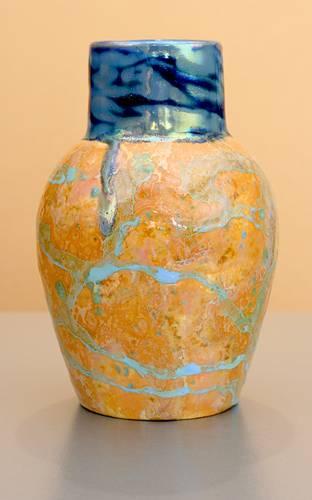 [Iridescent Pottery by Paul J. Katrich (1069)]