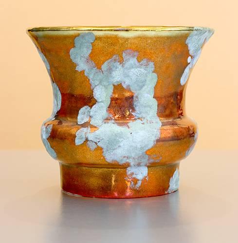 [Iridescent Pottery by Paul J. Katrich (1070)]