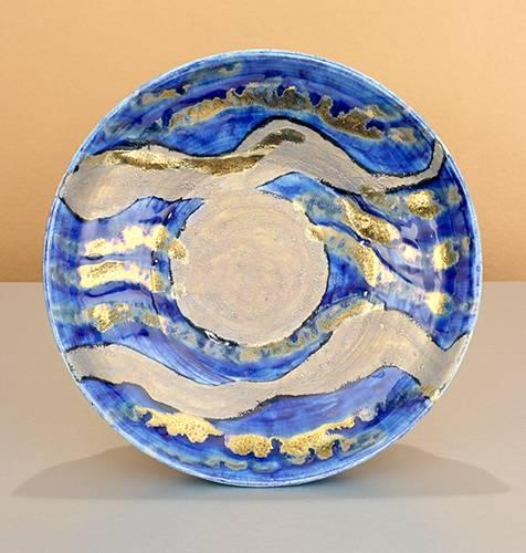 [Iridescent Pottery by Paul J. Katrich (1081)]