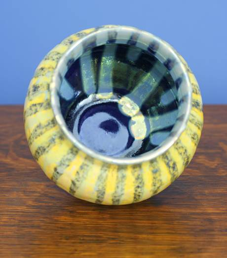 [Iridescent Pottery by Paul J. Katrich (1108)]