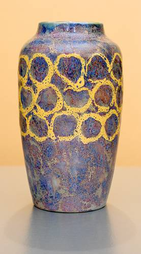 [Iridescent Pottery by Paul J. Katrich (1175)]