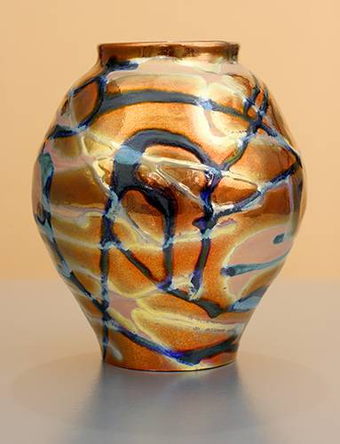 [Iridescent Pottery by Paul J. Katrich (1193)]