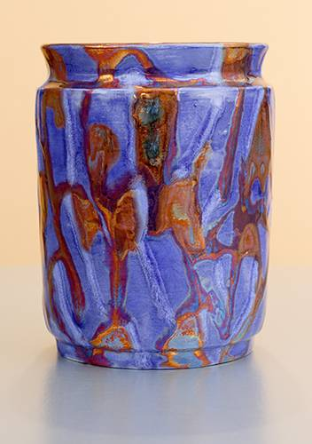 [Iridescent Pottery by Paul J. Katrich (1194)]