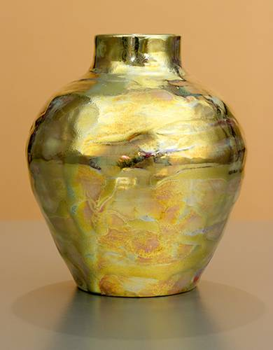 [Iridescent Pottery by Paul J. Katrich (1195)]