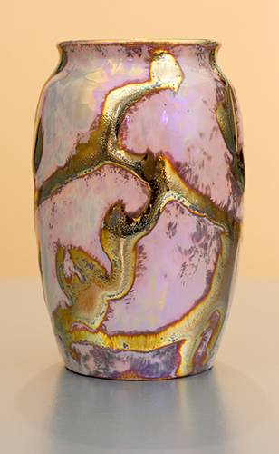 [Iridescent Pottery by Paul J. Katrich (1198)]