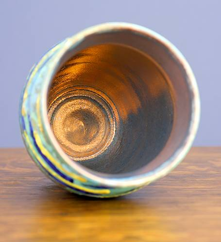 [Iridescent Pottery by Paul J. Katrich (1201)]