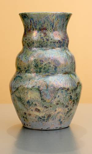 [Iridescent Pottery by Paul J. Katrich (1207)]