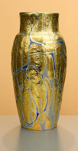 [Iridescent Pottery by Paul J. Katrich (1215)]
