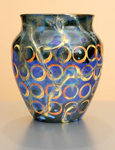 [Iridescent Pottery by Paul J. Katrich (1220)]