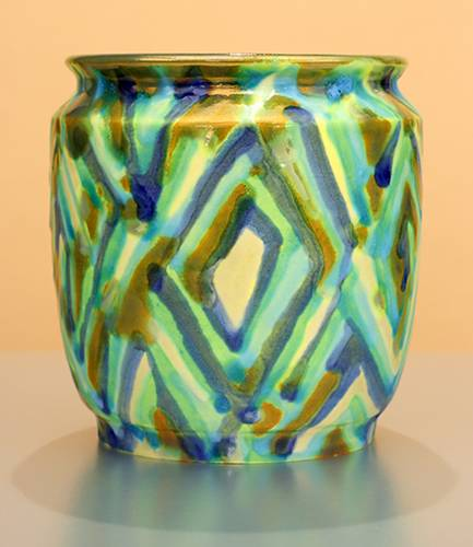 [Iridescent Pottery by Paul J. Katrich (1231)]