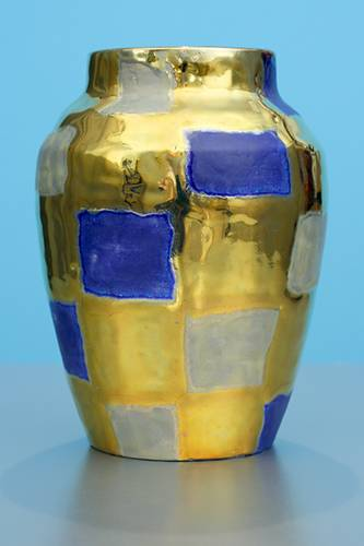 [Iridescent Pottery by Paul J. Katrich (1247)]