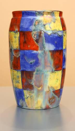 [Iridescent Pottery by Paul J. Katrich (1253)]