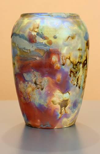 [Iridescent Pottery by Paul J. Katrich (1254)]