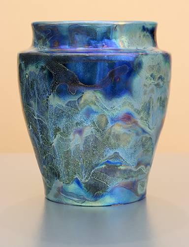 [Iridescent Pottery by Paul J. Katrich (1257)]