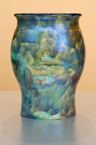 [Iridescent Pottery by Paul J. Katrich (1259)]