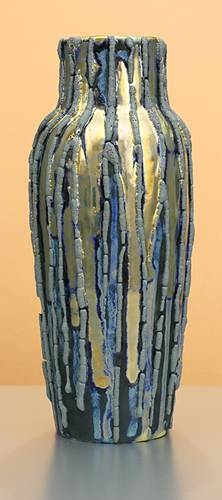 [Iridescent Pottery by Paul J. Katrich (1260)]