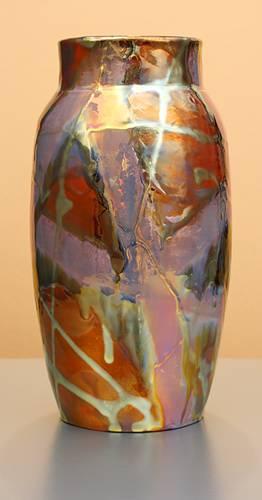 [Iridescent Pottery by Paul J. Katrich (1264)]