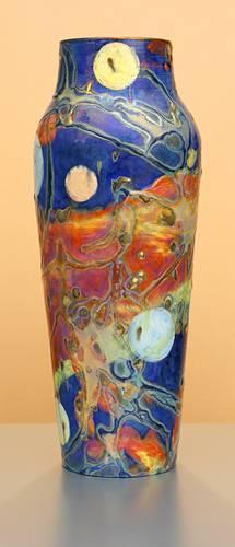 [Iridescent Pottery by Paul J. Katrich (1266)]