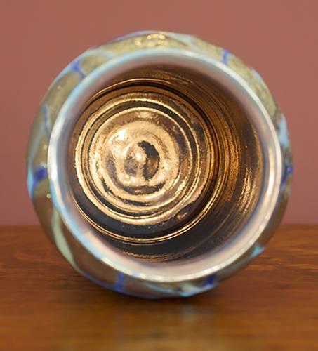 [Iridescent Pottery by Paul J. Katrich (1273)]