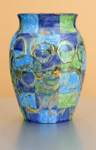 [Iridescent Pottery by Paul J. Katrich (1275)]