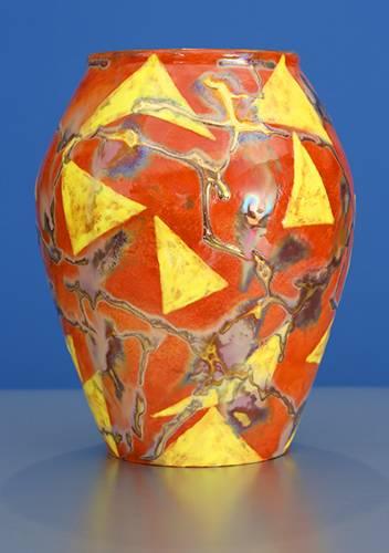 [Iridescent Pottery by Paul J. Katrich (1281)]