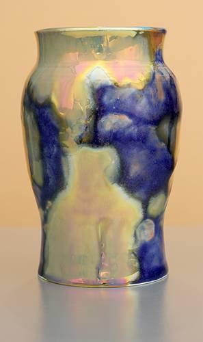 [Iridescent Pottery by Paul J. Katrich (1287)]
