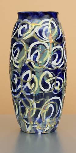 [Iridescent Pottery by Paul J. Katrich (1296)]